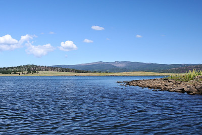 Mt. Baldy above Big Lake