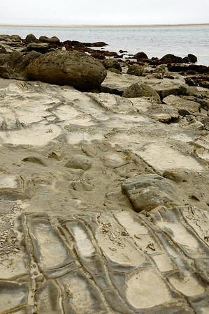 Carved rocks