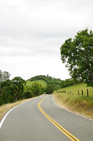 Winding Foothills Road