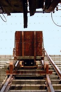 Skip above the shaft