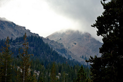 Chaos Crags at the base of Lassen Peak