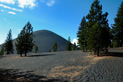 Approaching the Cinder Cone