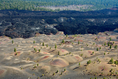 Painted Dunes and the Fantastic Lava Beds