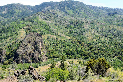 Black Rock and Mill Creek Canyon