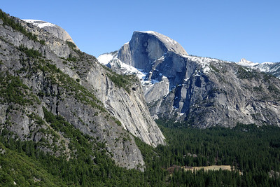 Half Dome and the east end of the valley
