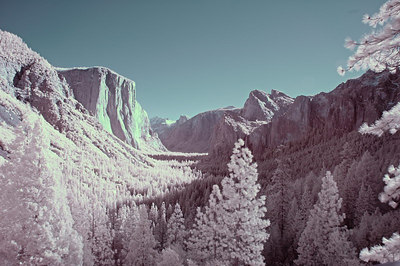 Tunnel View in infrared