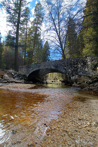 Bridge over Tenaya Creek