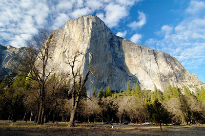 El Capitan in early evening