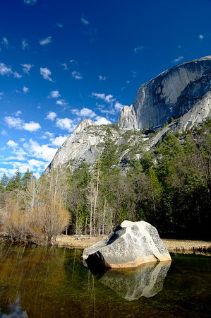 Half Dome and Mirror Lake