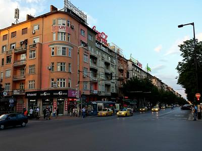 Near Vitosha Blvd