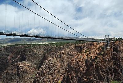 World's highest suspension bridge