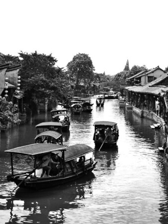 Boats on the canal