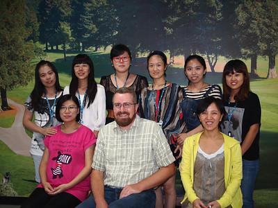 Shanghai team - Back:Megan, Lina, Regina, Solina, Efe, Wendy Front: Carol, Me, Paulina
