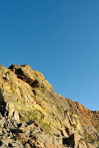 Lichen covered outcrop