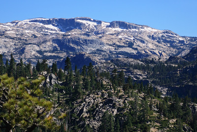Exposed Granite of the Emmigrant Wilderness