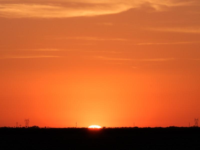 Sunset over San Tan Valley
