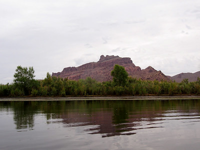 Red Mountain above Granite Reef