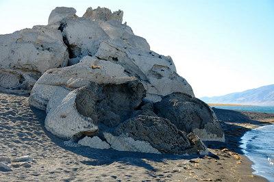 Tufa mounds