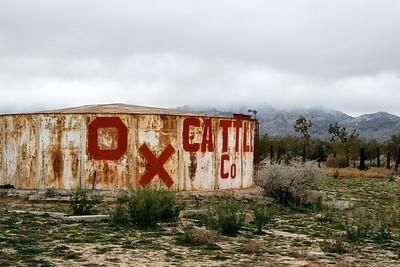O. X. Water Tank