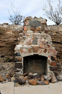 Chimney and foundation