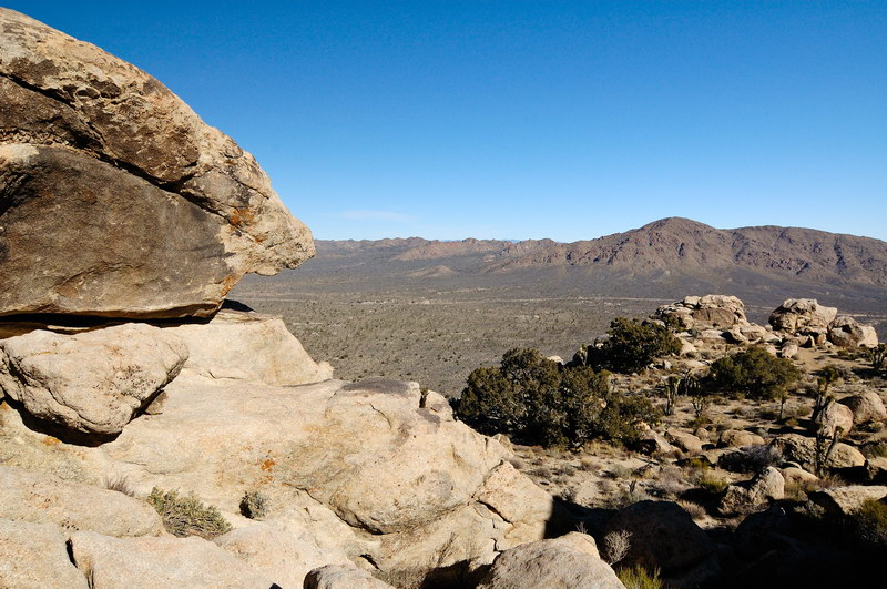The Ivanpah Mountains
