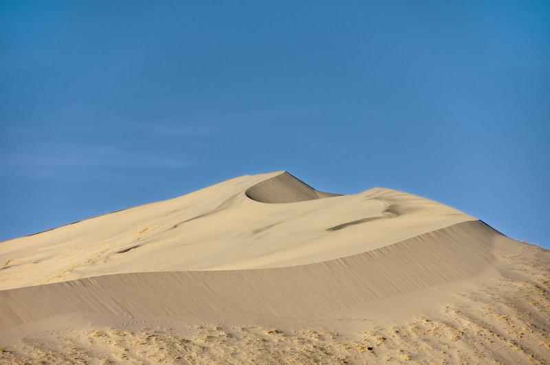 The Eastern peak of the dunes