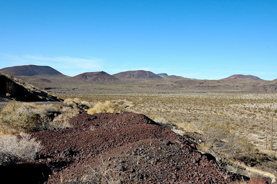 Cinder cone and lava beds