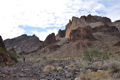 Hiking in the Wash