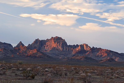 Turtle Mountains at Sunrise