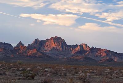 Turtle Mountains at Sunrise