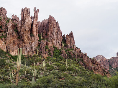 Spires in Peralta Canyon