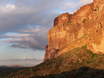 Sunrise on the Dacite Cliffs