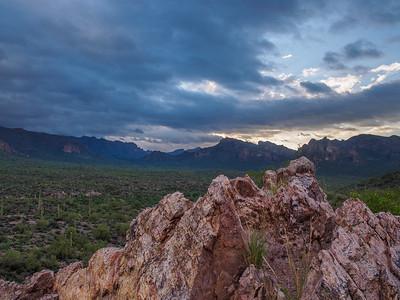 Cloudy Sunrise over Barkley Basin