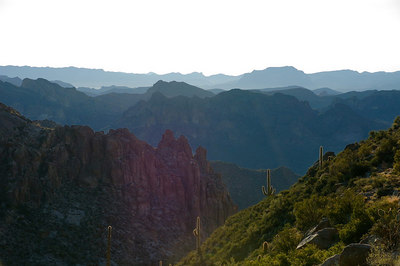 Ridges of the Superstition Mountains