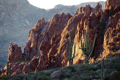 Above Peralta Canyon
