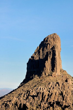 Close up of Weaver's Needle