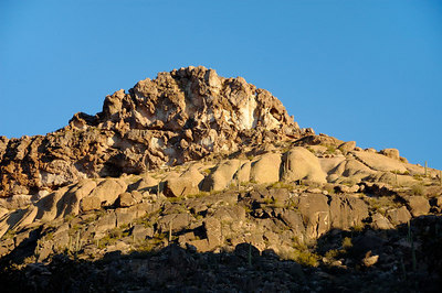 Northeast side of the Canyon - looks kind of like a mound of ice cream