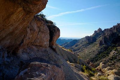 Descending the Cave Trail