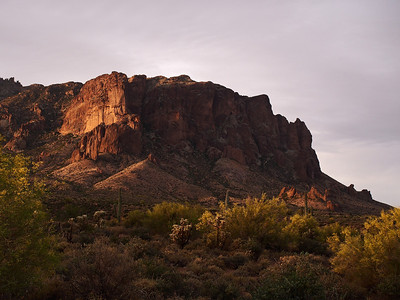 Northern edge of the Superstitions