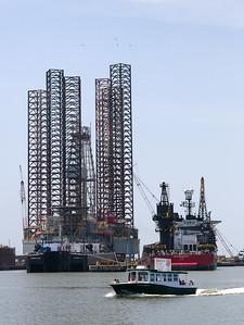 Oil Rig under repair