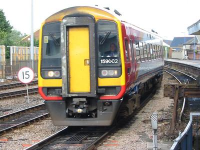 159002 at Salisbury, 18th Aug 2004