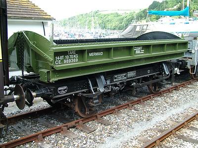 ZJV 'Mermaid' Side tipping ballast wagons
