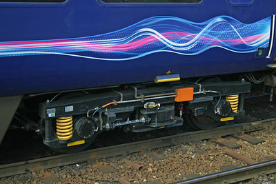 Detail of TF 41094 at Exeter St Davids, 29th Feb 2012