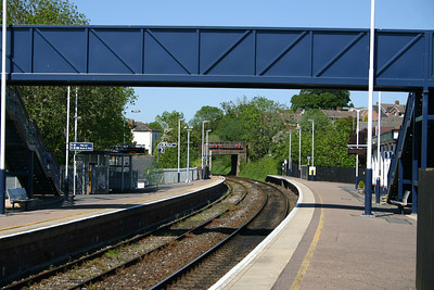 Honiton station looking East