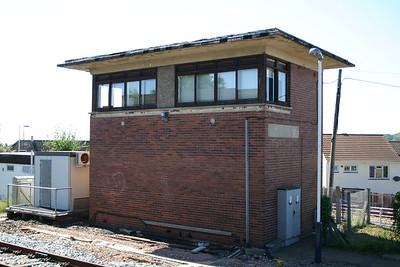 Honiton signal box (OOU)
