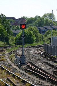 LED signal SE4809 at West end of Honiton station