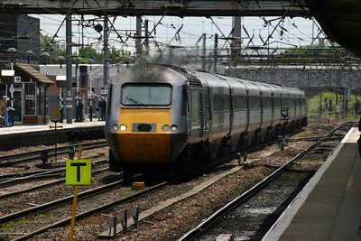 43299 passing Doncaster, 6th June 2012