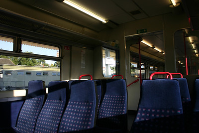 First Great Western class 150 interior on 150131 - 28th July 2012
