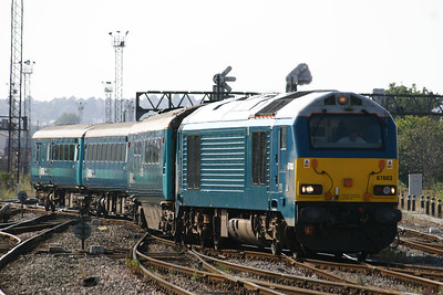67003 - Arriva Trains Wales blue