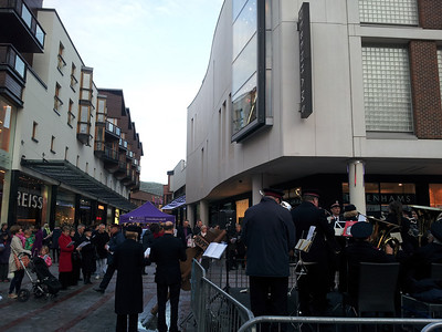 2012-12-16 - Salvation Army and Exeter Nativity